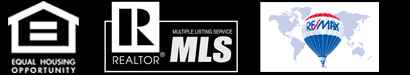 Equal Housing, Realtor, MLS, and RE/MAX Logos